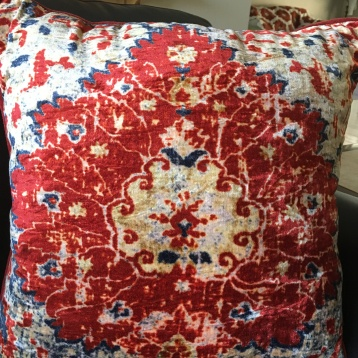 Pillow inspiration from living room