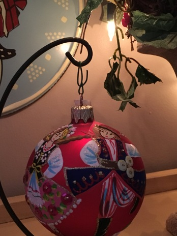 Polish dancer ornament from Poland