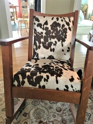 cow chair edited
