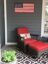My new flag wall hanging!