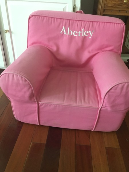 Original Chair: Before