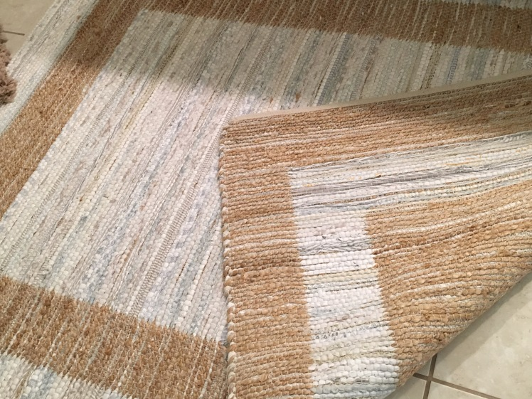 reversible area rug