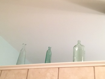 glass jars for ceiling color