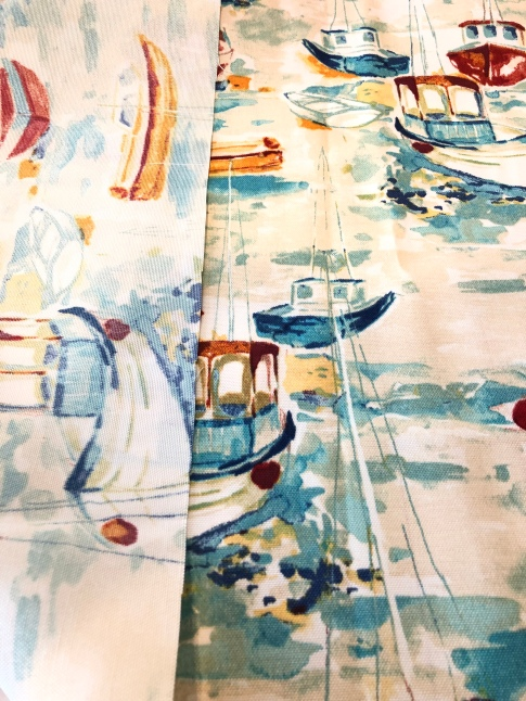 Polyester Outdoor Fabric/Design is printed onto the front of fabric