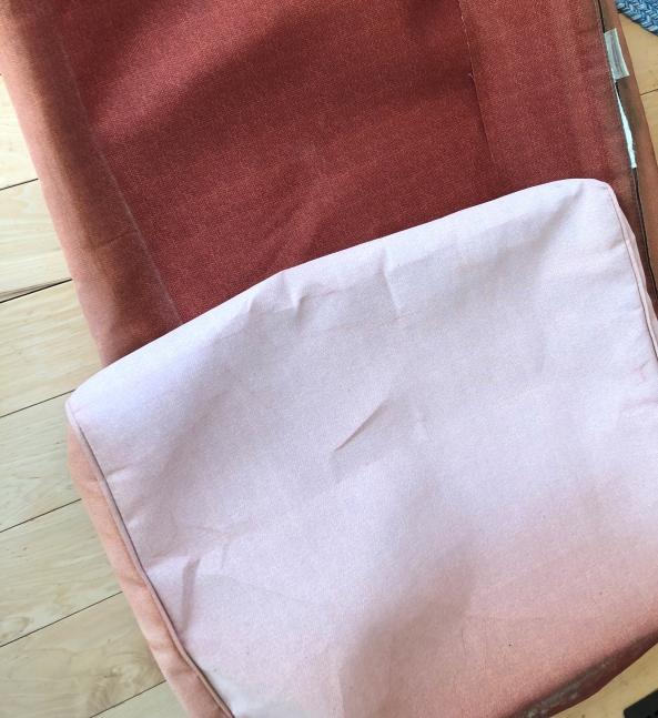 Polyester Outdoor Fabric Sun Damaged